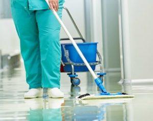 limpieza de hospitales en Valencia - pasillo