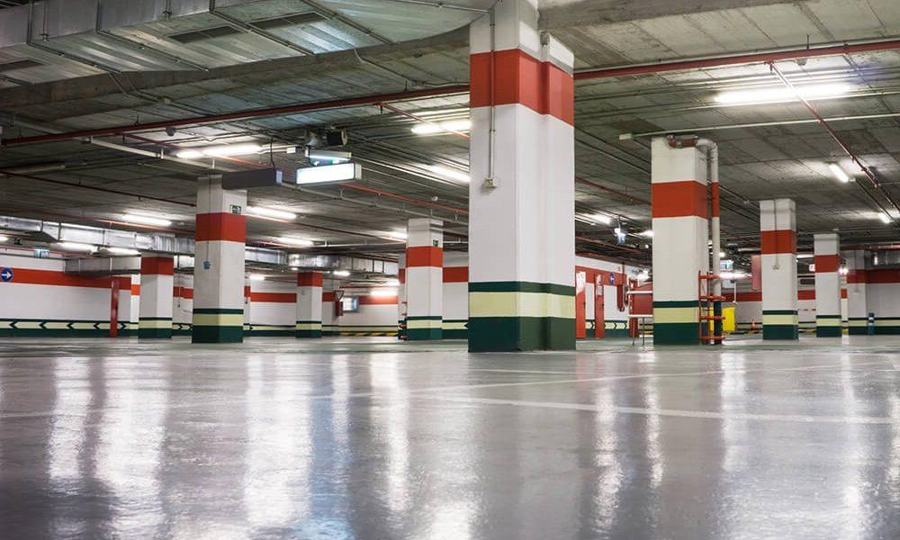 limpieza de garajes en Sevilla - parking