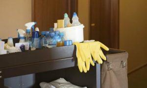 limpieza de hoteles en Valencia - herramientas