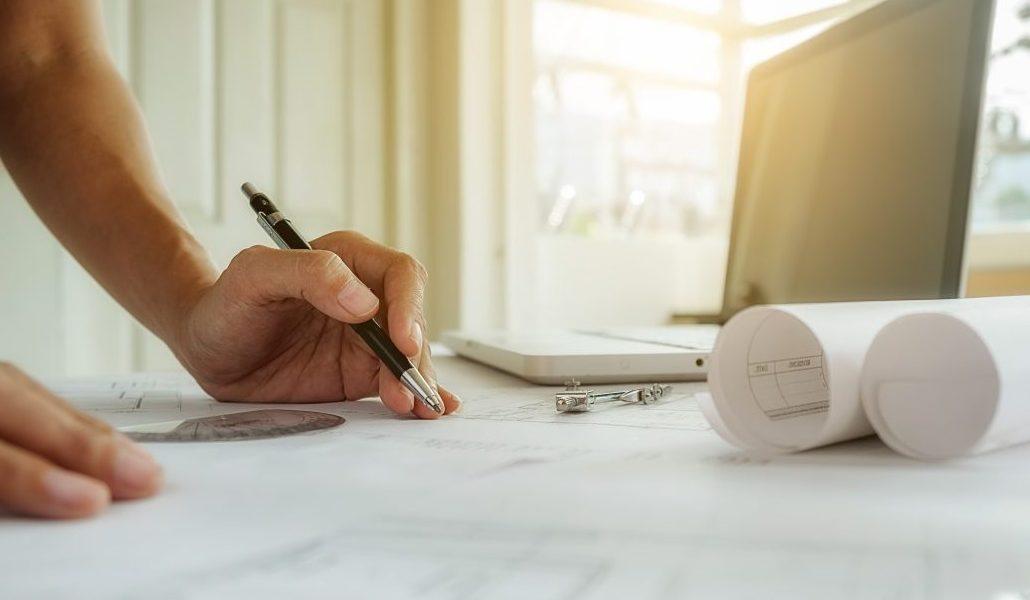 administracion de fincas de despachos - planos