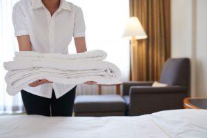 limpieza de hoteles en Sevilla - toallas
