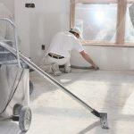 limpieza de fin de obra en Valencia - maquinaria