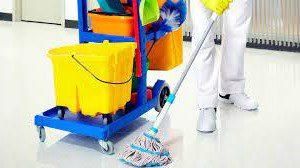 limpieza de locales comerciales valencia - carrito de limpieza